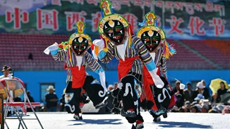 Artists perform Tibetan Opera in cultural festival