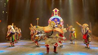 Rhythms of ancient Tibetan folk performance