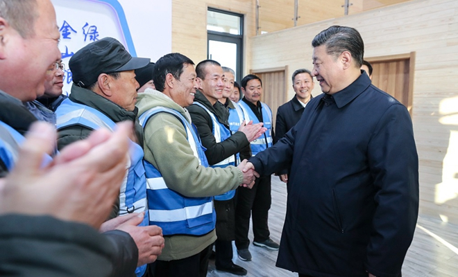 Xi: Great opportunity in Xiongan new area