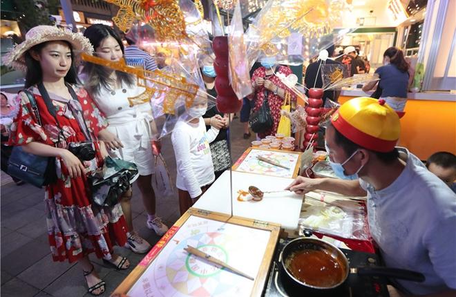Summer nightlife festival opens in downtown Kunming