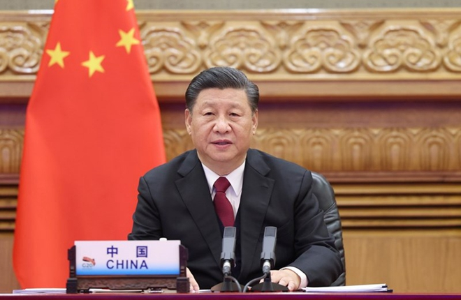 Xi offers solutions for fighting pandemic, reviving economy