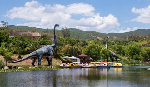 Yunnan relies on dinosaurs park to power local tourism