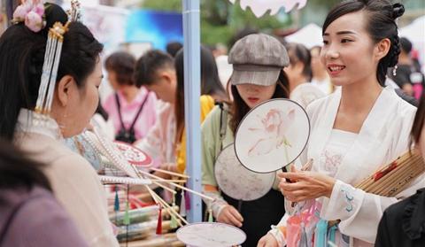 People celebrate Qixi festival in Yunnan