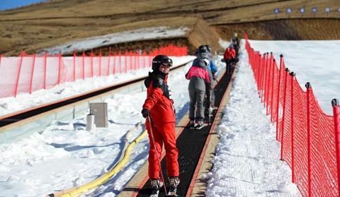 Ski season kicks off in Qujing, E Yunnan