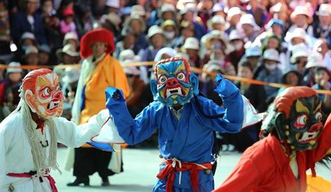 Tibetan Opera troupe marks 60th anniversary