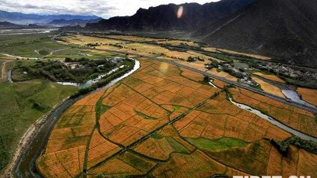 See a better Tibet through road