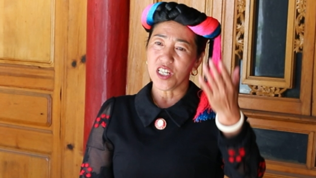 Diqing inheritor (1) He Jinmei tireless singer of King Gesar in Tacheng